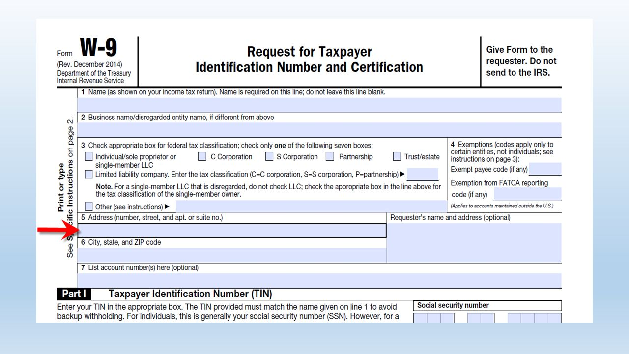 Irs Form W 9 Copyright Notice This Presentation Is Copyrighted