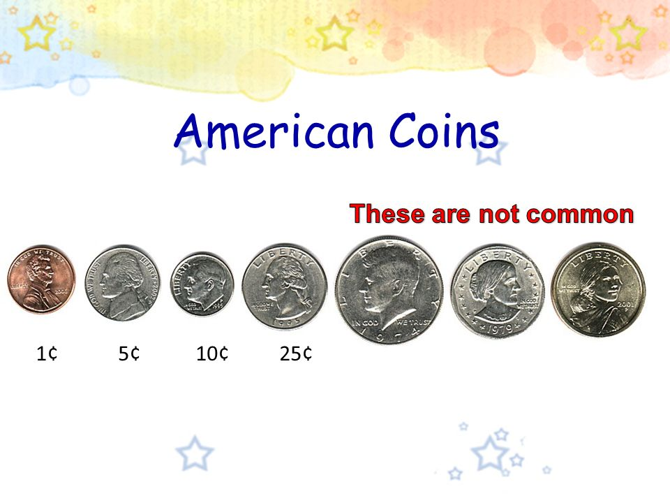 Today's topic is the US Coins  ou Q2: When do you need to use the US