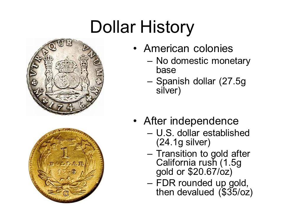 4 Dollar History American