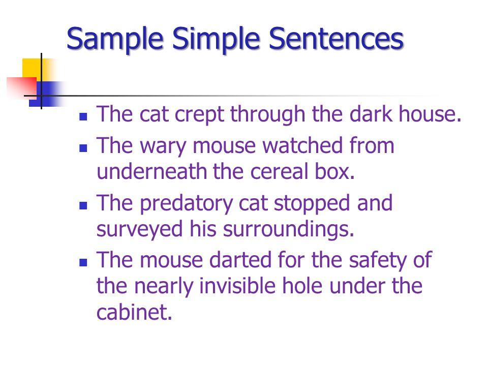 Simple/complex/compound sentences notes.