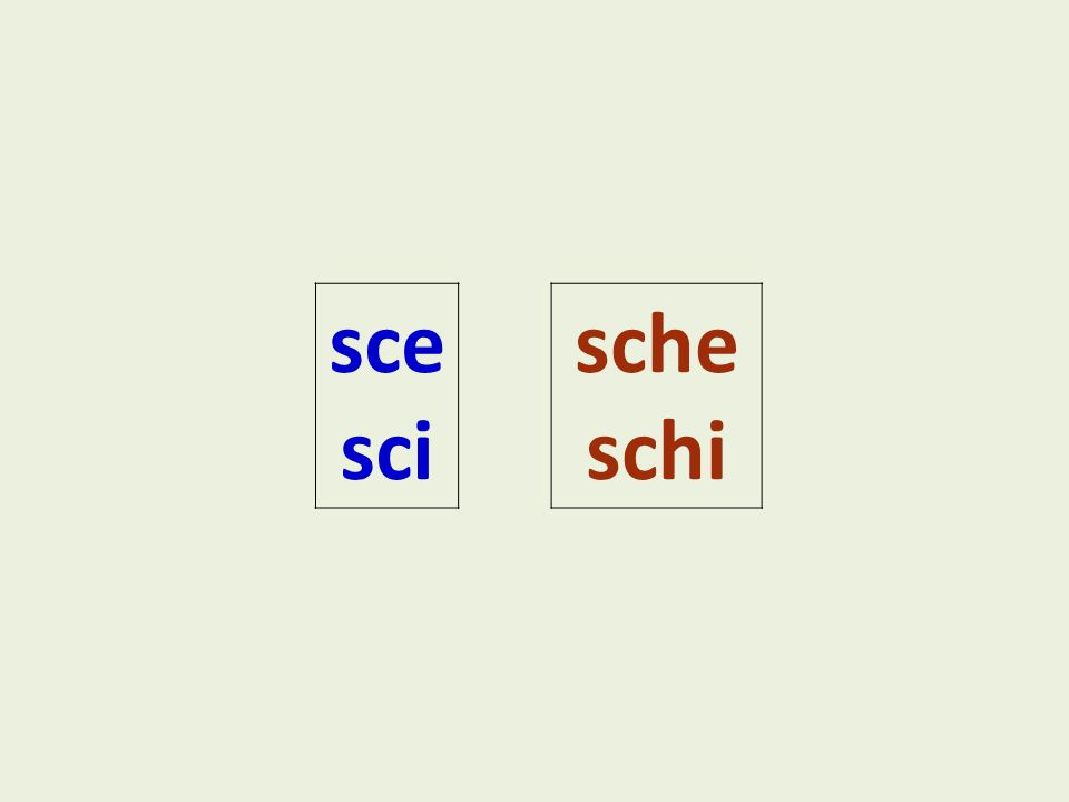How To Pronounce Sc Sci And Sch In Italian L195 Unit 2 Attività