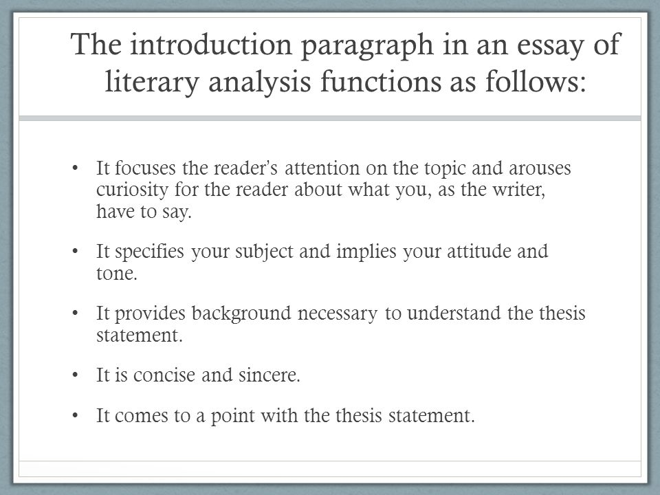 example of a thesis statement of a short story