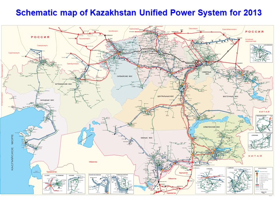 Kazakhstan electricity grid operating company astana 2013 3 schematic map publicscrutiny Image collections
