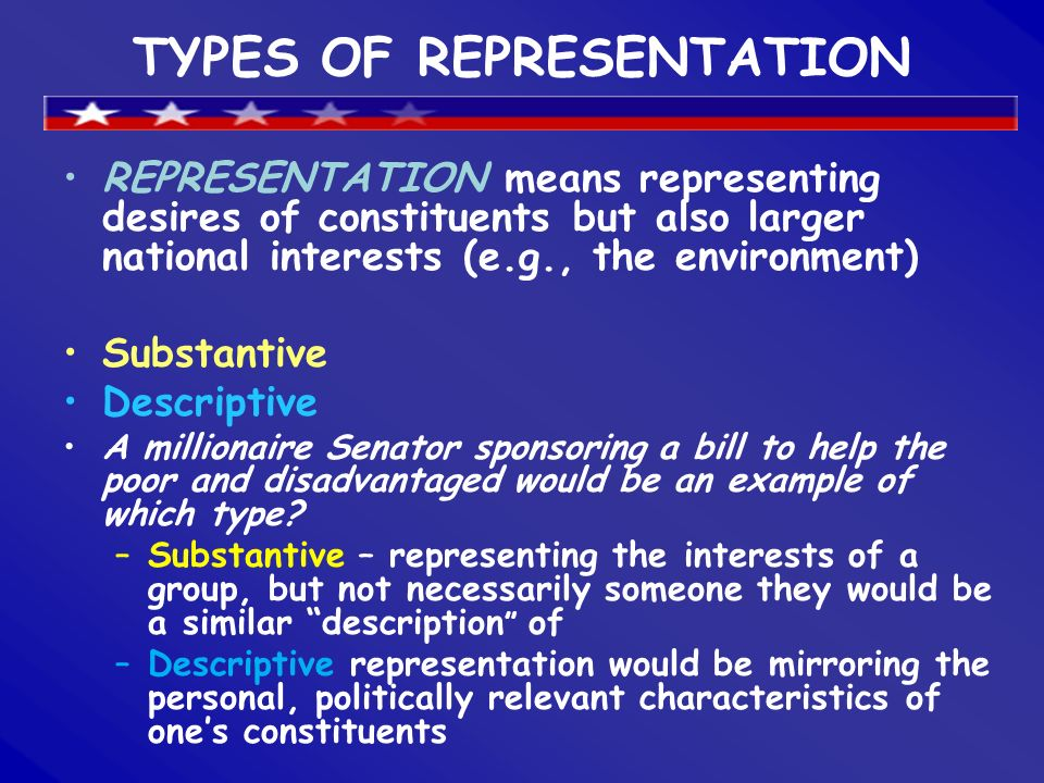 descriptive representation definition