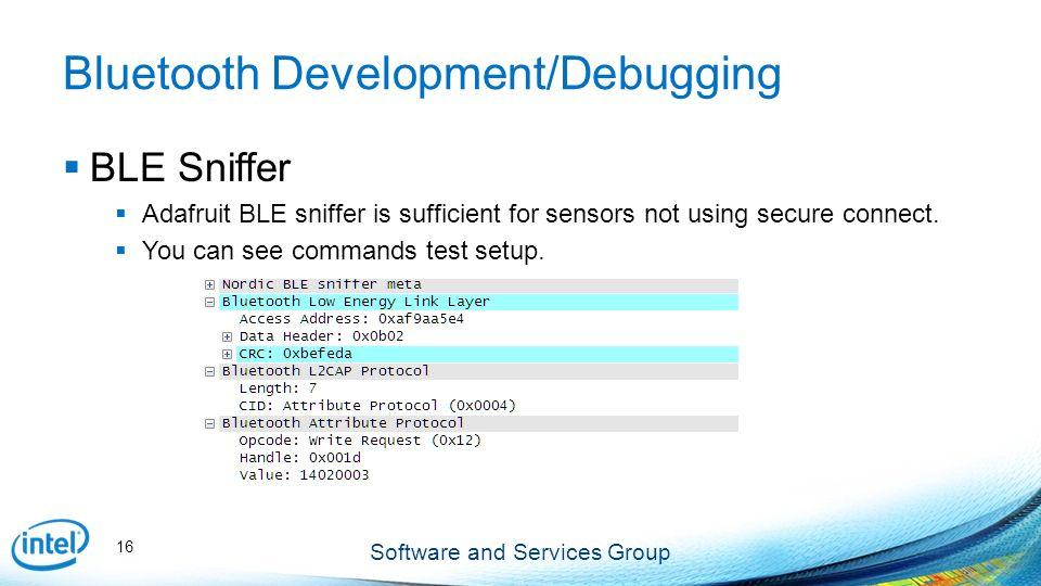 Bluetooth-LE OpenJDK 8 & wearable sensors Edison Vinay K