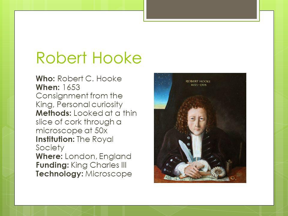 information about robert hooke
