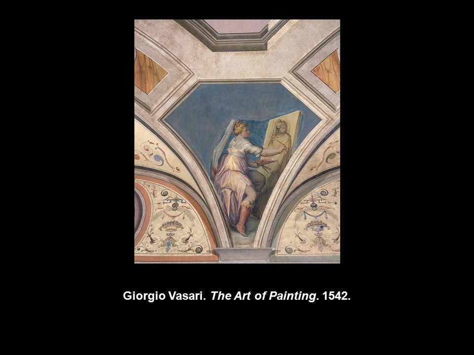 Giorgio Vasari The Art Of Painting Artemisia Gentileschi Self
