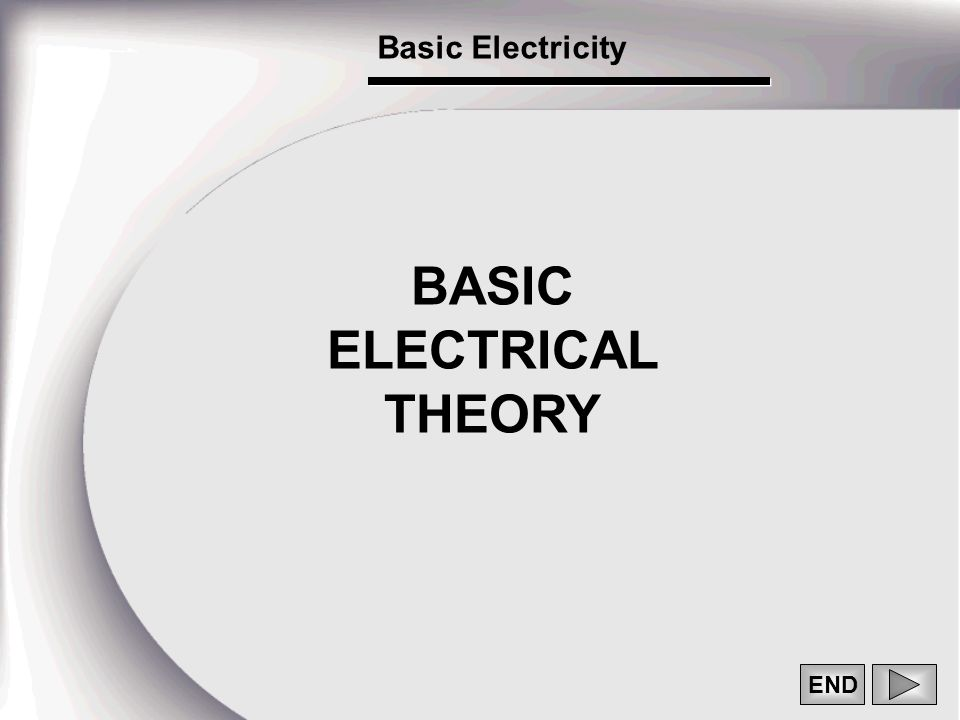 end basic electrical theory basic electricity 1 the atom and its Basic Electronics Formulas 1 end basic electrical theory basic electricity