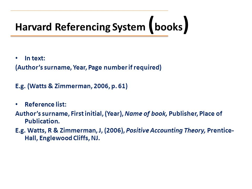 Lecture 24 referencing harvard referencing system journal article 3 harvard referencing system books ccuart Image collections