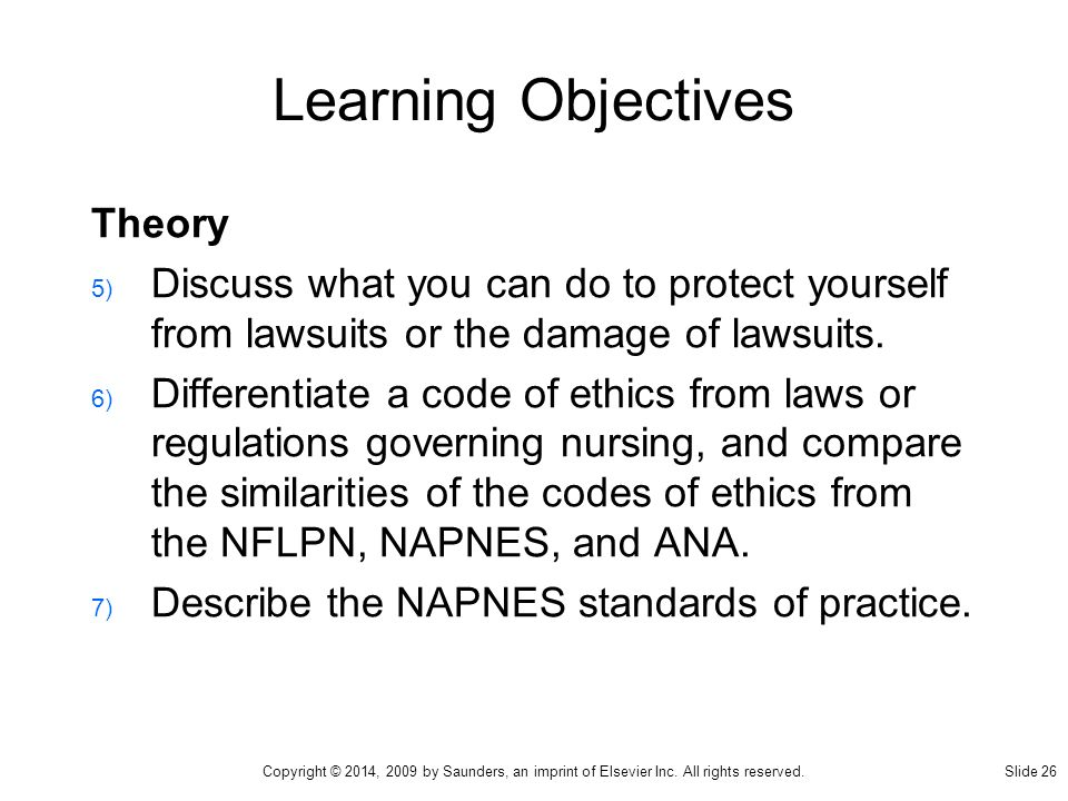 nursing laws and ethics