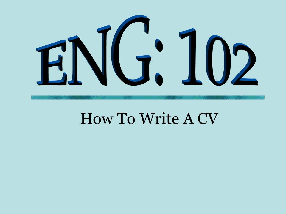 How To Write A Cv What Is A Cv Resume Resume Origin French Word R