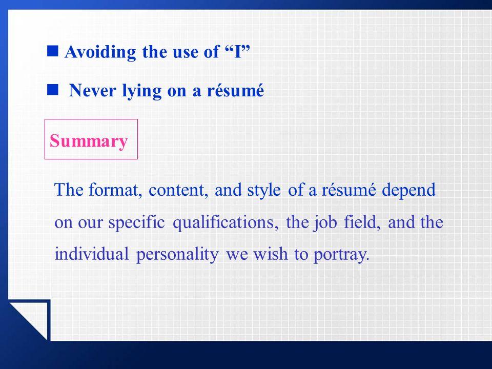 Rsums Rsum Cv A Document That Presents A Brief Summary Of