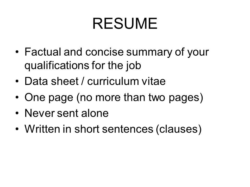 employment letters résumé job query letter application letter