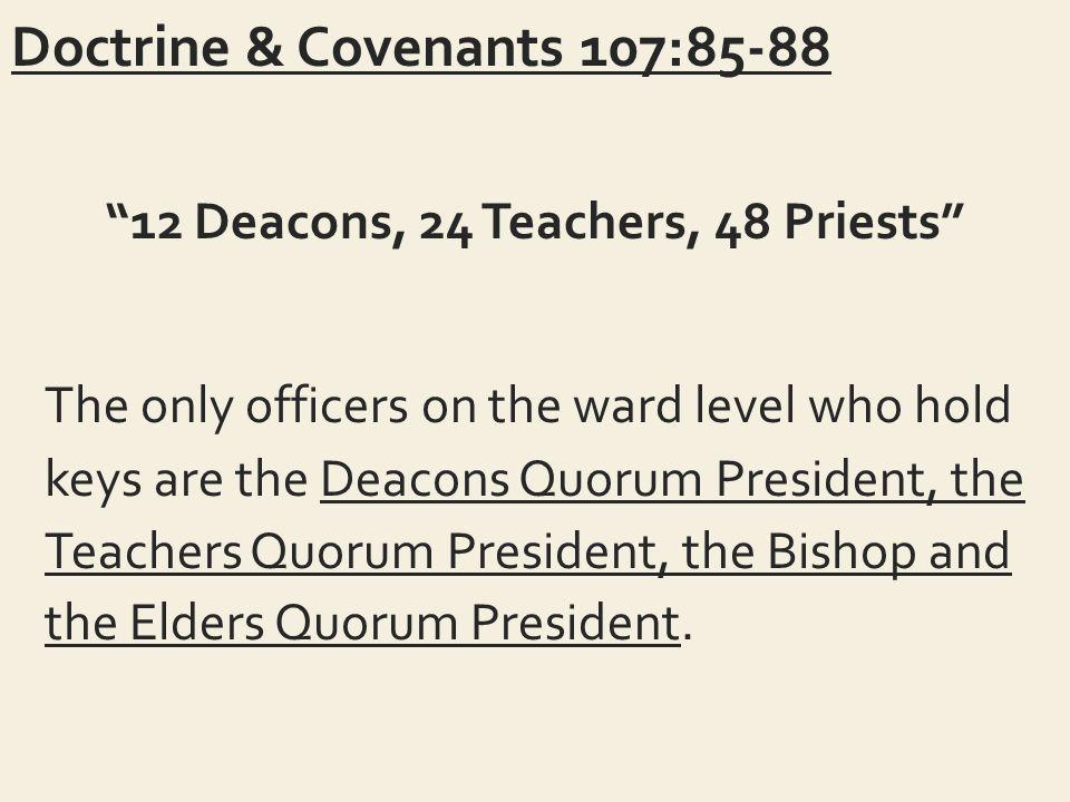 "DOCTRINE & COVENANTS Doctrine & Covenants 104:9 ""Buffetings"