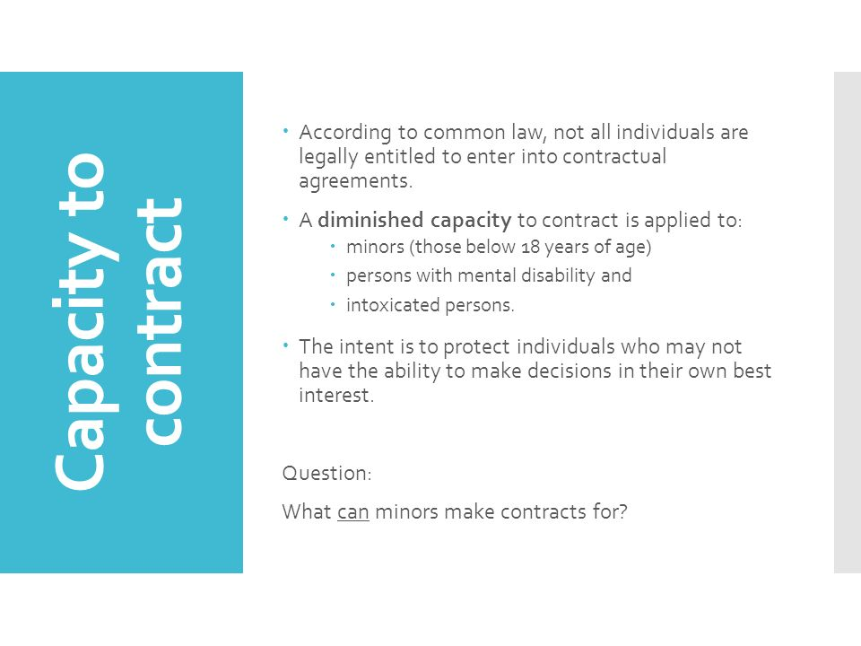 Contracts Clu3m Understanding Canadian Law We Will Learn The