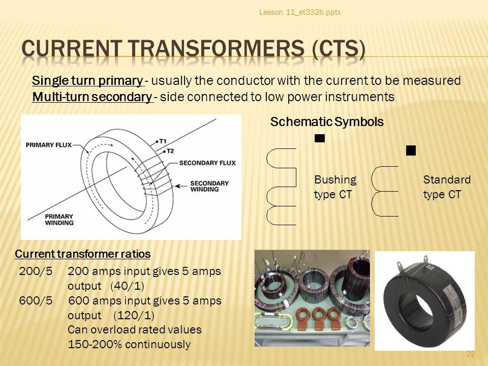 Et 332b Ac Motors Generators And Power Systems 1 Lesson 11et332b