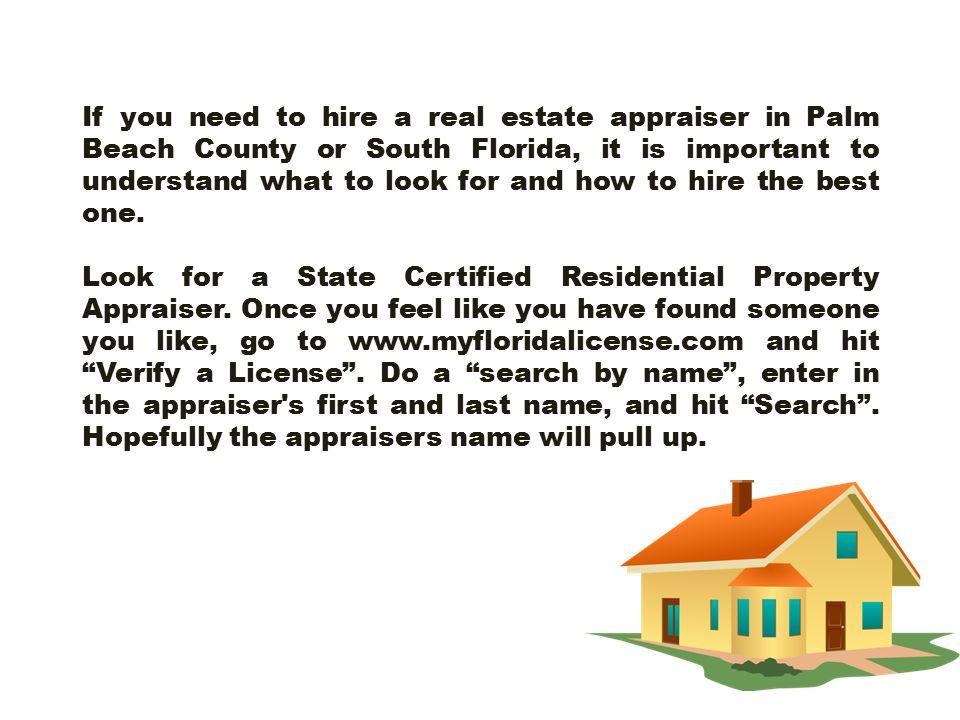 imágenes de state of florida real estate appraiser license search