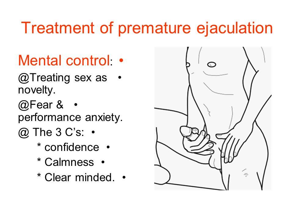How to cure premature ejaculation edbalance