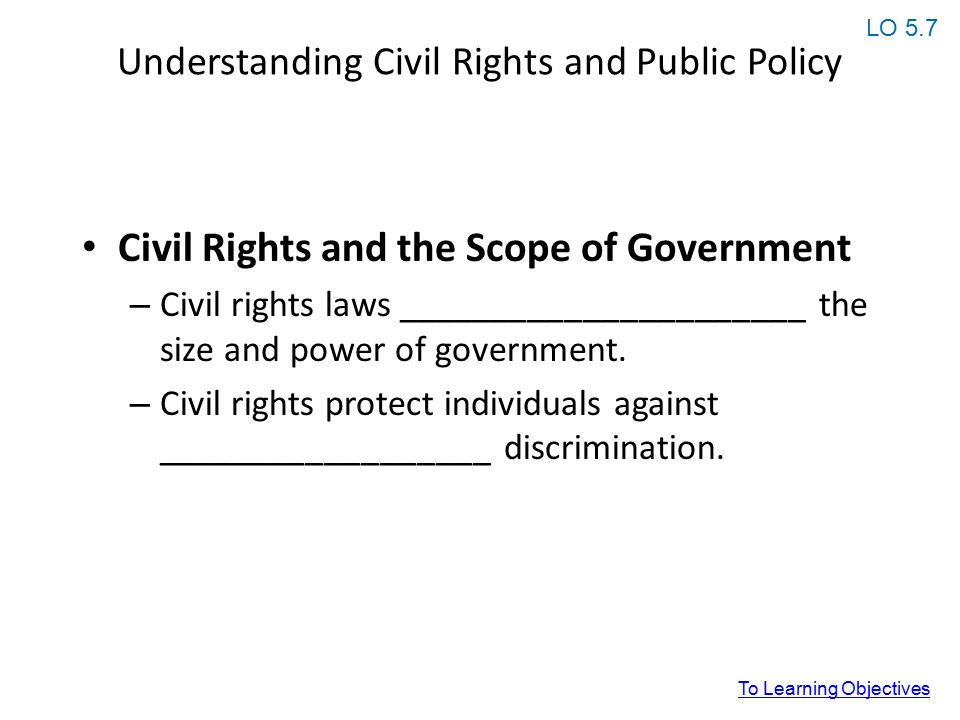 list of civil rights issues