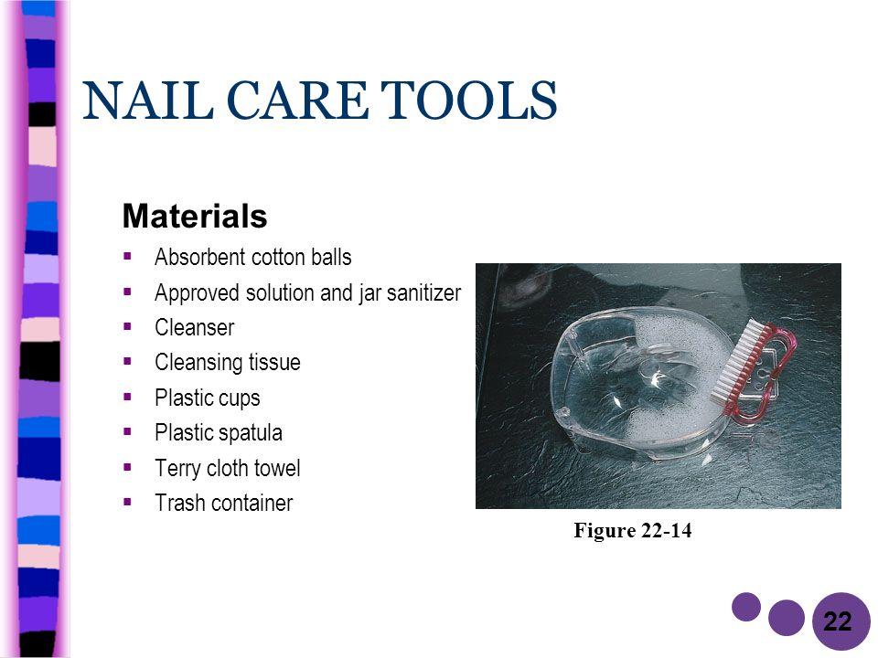 9 22 NAIL CARE TOOLS MSDS Material