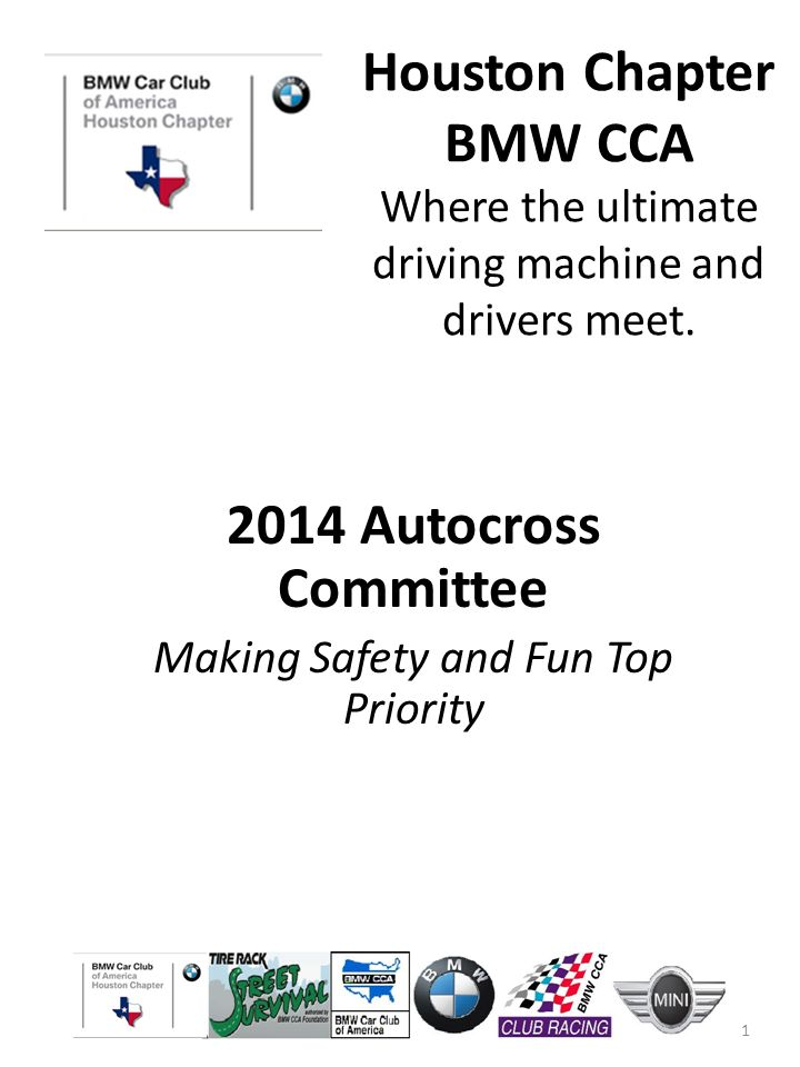 Houston Chapter Bmw Cca Where The Ultimate Driving Machine And