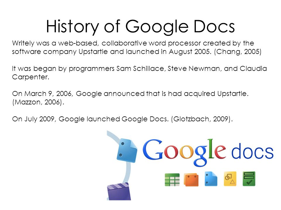 Google Docs Collaboration History Of Google Docs Writely Was A Web - Google docs word processor