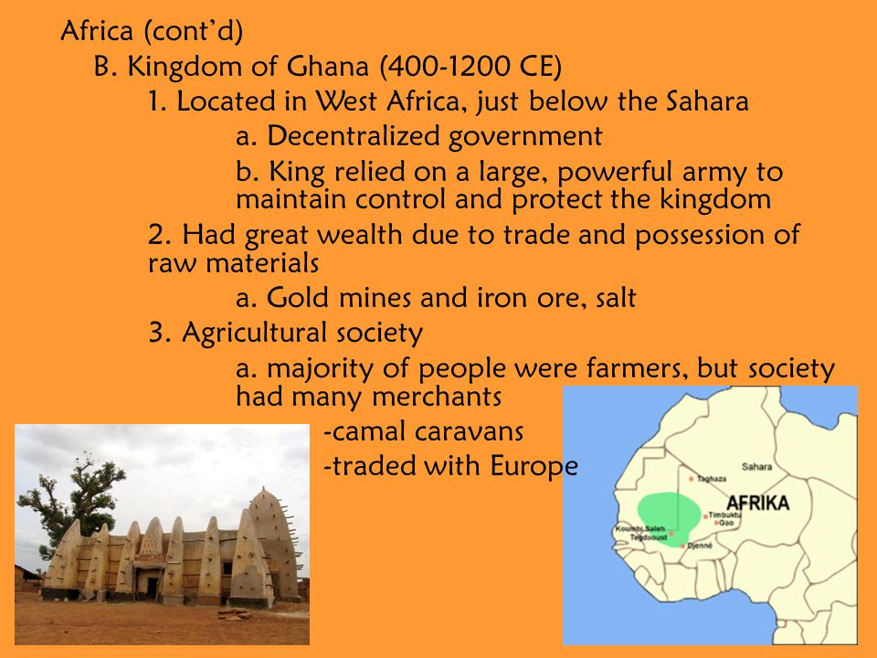V  Trading Empires  Trading Empires of Africa Africa A  Kingdom of