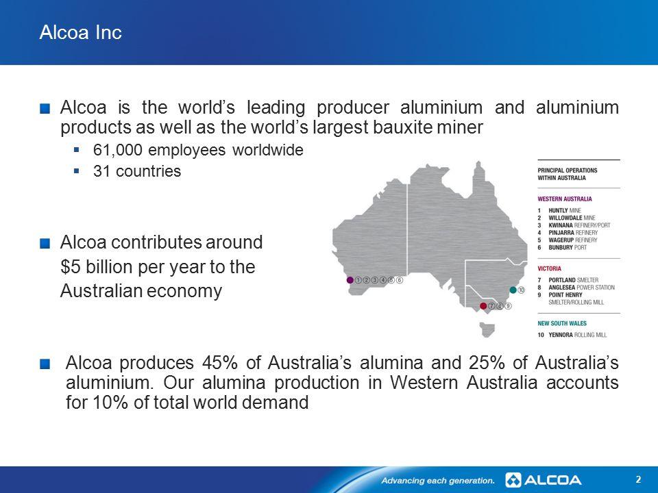 Alcoa Refinery