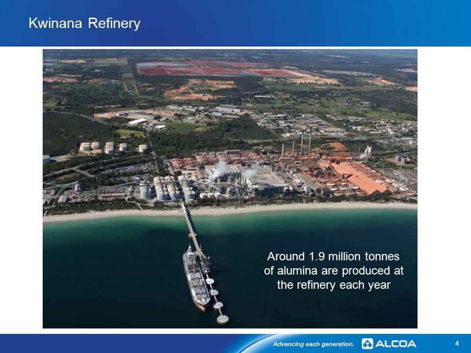 Alcoa Kwinana – 50 Years of Operation Tim Maclean – Refinery