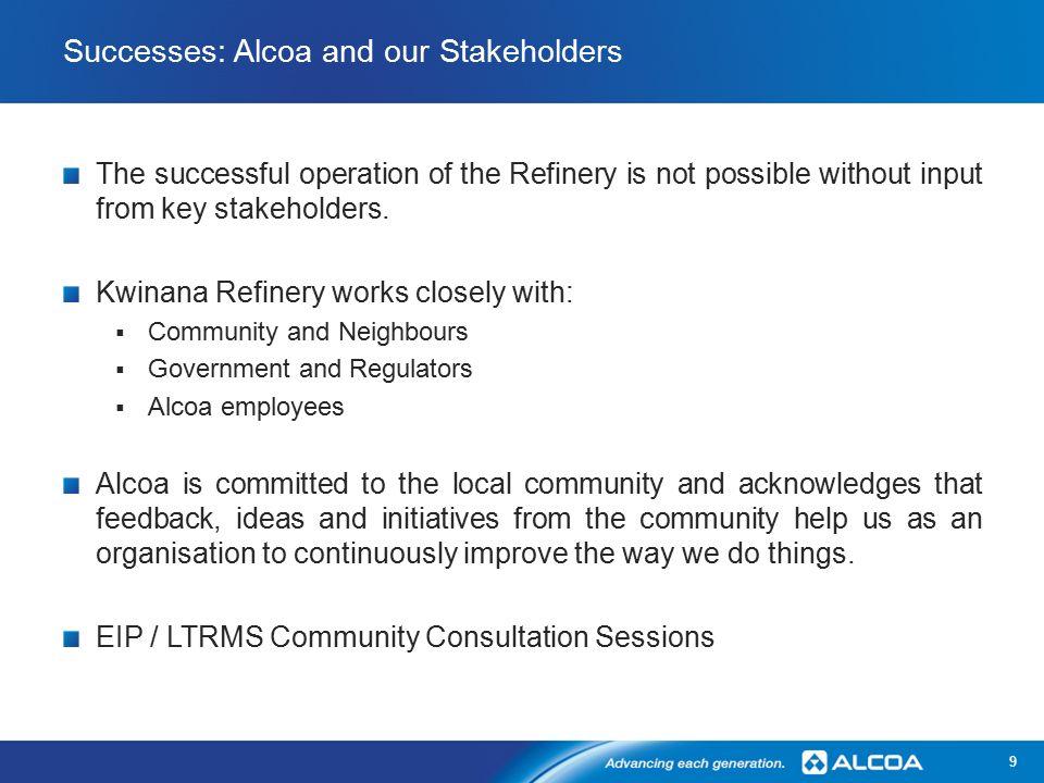 Alcoa Kwinana – 50 Years of Operation Tim Maclean – Refinery Manager