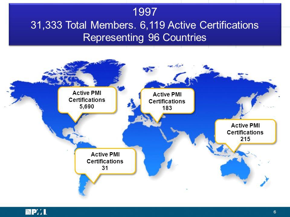 Certification John Kleine Global Manager Pmi Certification