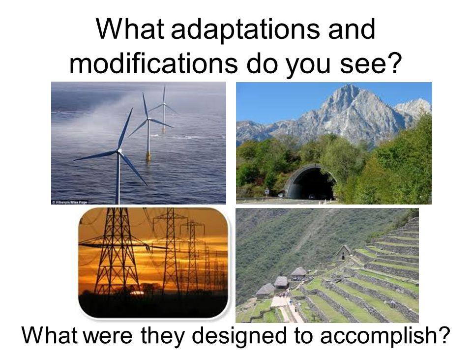 human adaptation to new environment