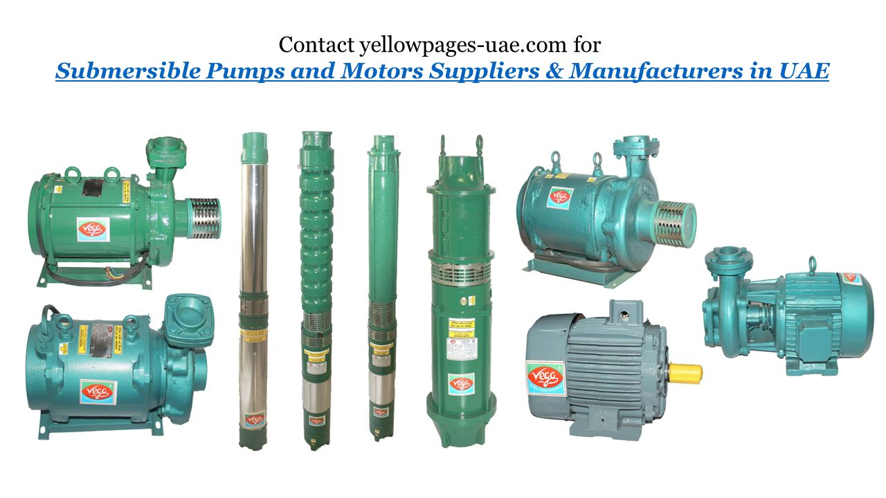 Submersible Pumps and Motors Suppliers & Manufacturers in