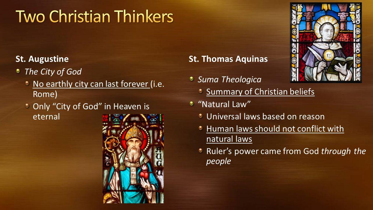 augustine city of god summary