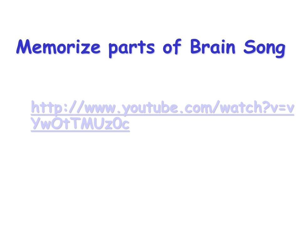 The nervous system ppt download 62 memorize parts of brain song ccuart Gallery