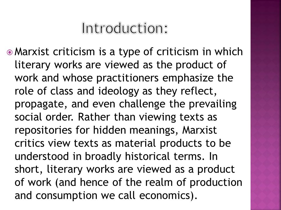 """marxist criticism is always concerned with the class struggle in history A critique of marxist feminism a critique of marxist feminism 3 march 2017  liberal feminism is concerned with attaining economic and political equality in a male-dominated society  it would require a class struggle of all the oppressed (male and female) to achieve liberation it is incorrect to characterize women as a special """"class."""