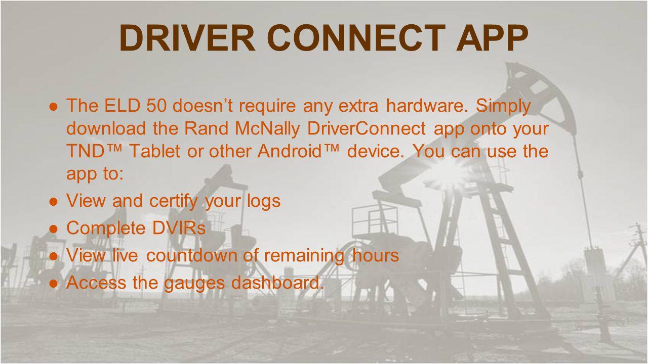 rand mcnally driverconnect portal