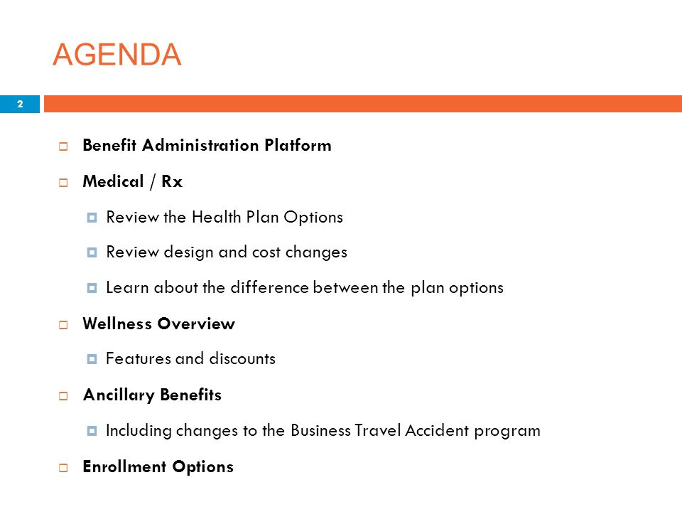 annual business plans benefits administration