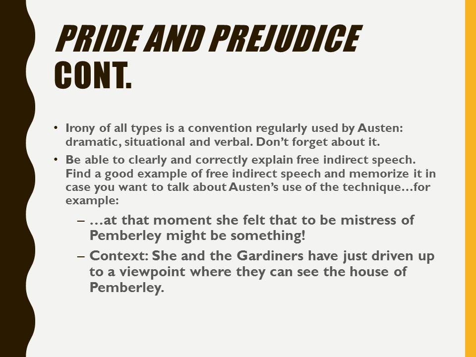 pride and prejudice speech