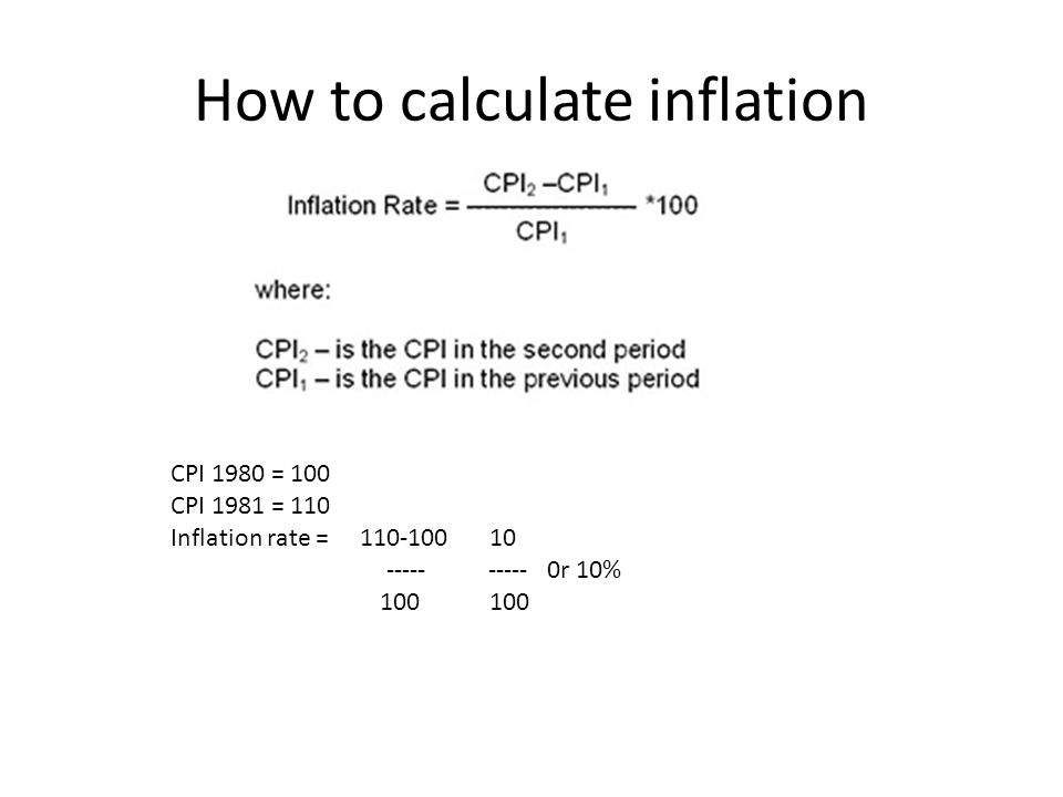 5 how to calculate inflation