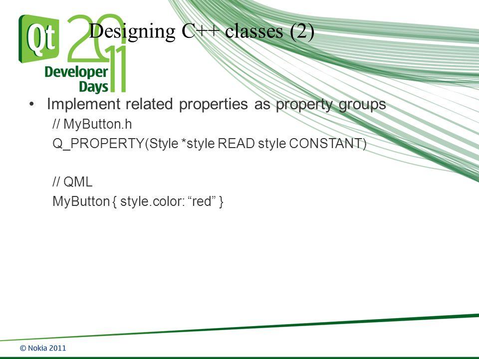 Qt Quick Best Practices and Design Patterns Girish