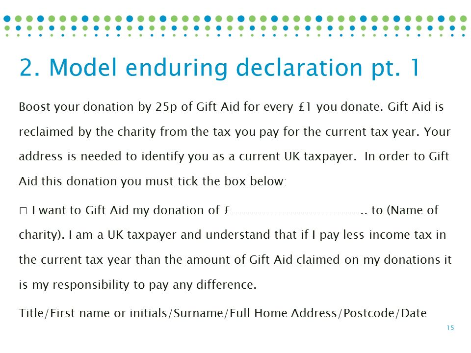 Ross palmer september 2016 gift aid made simple 1 gift aid boost your donation by 25p of gift aid for every 1 you donate negle Images