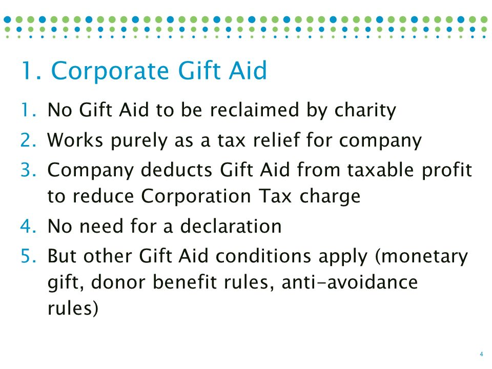 Ross Palmer September 2016 Gift Aid made simple  1 How Gift