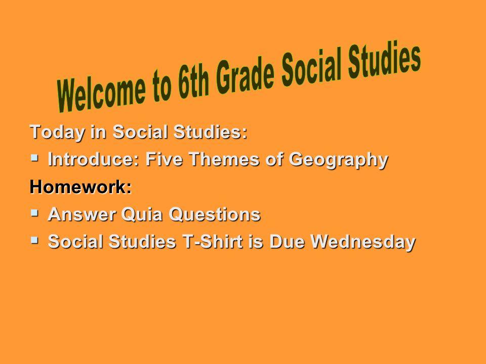 geography homework