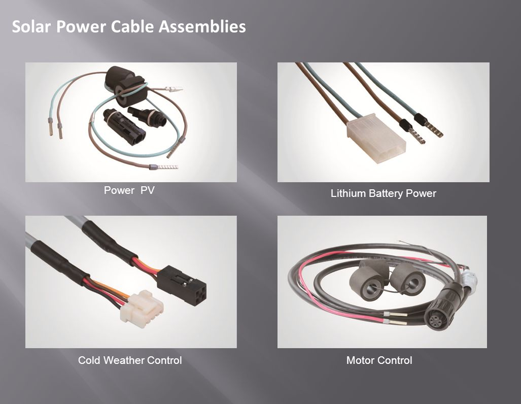 Harsh Environmental Cable Assemblies Solution TS-0048 / AX2 Aug 29 ...