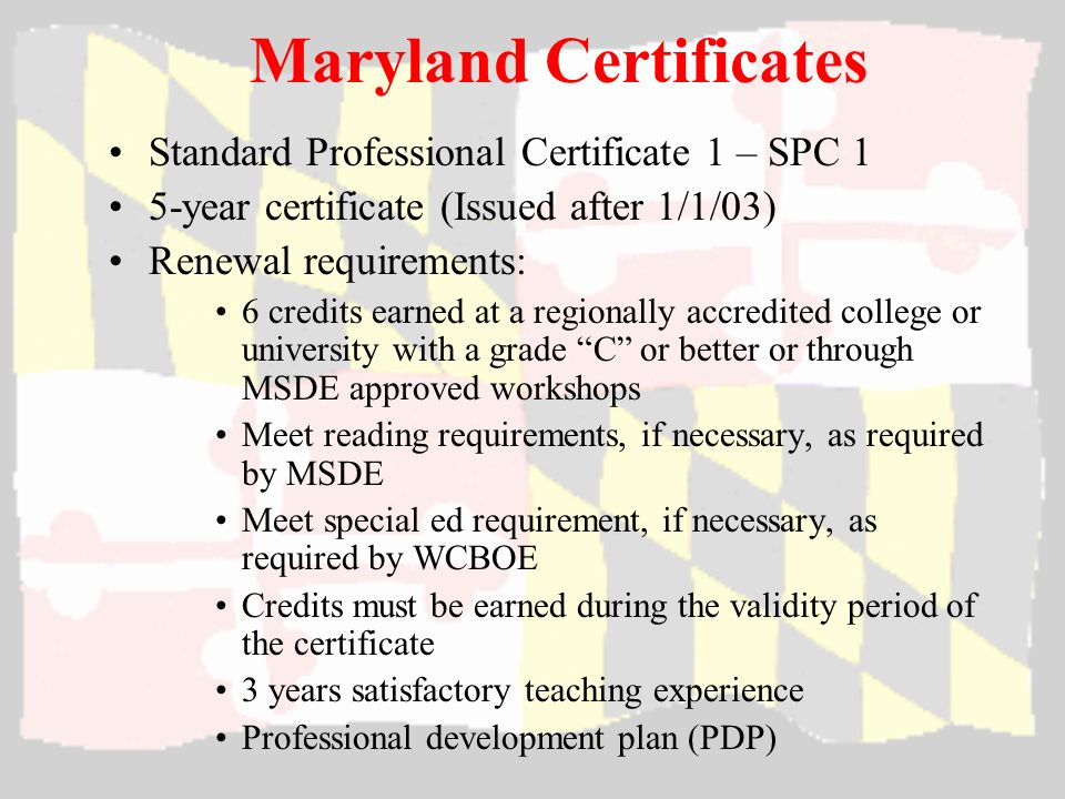 Wicomico County Board Of Education Maryland Teacher Certification