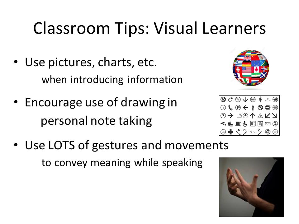 visual learning meaning