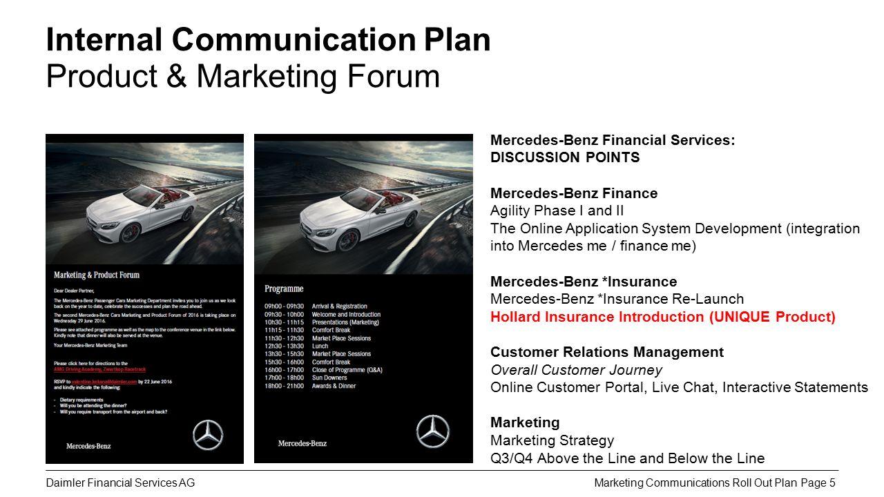 5 Daimler Financial Services AG ...