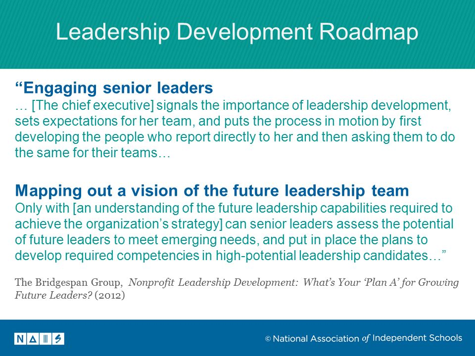 Ready For Leadership Change At A Time When Leadership Change