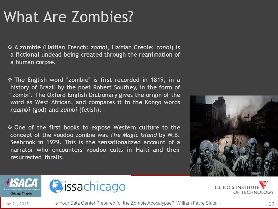 what is the origin of the word zombie